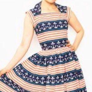 Bernie Dexter Nautical Dress XS